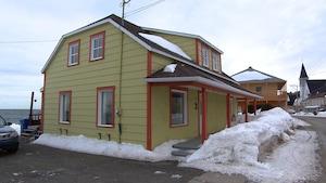 La maison de Nathalie Girard à Métis-sur-Mer