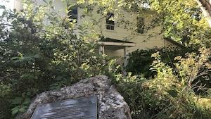 La maison d'enfance de René Lévesque est en piteux état.