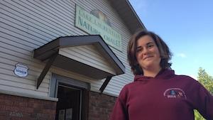 Mariane Lamontagne l'avoue: comme plusieurs citoyens de Sudbury, même elle ne connaissait pas tout le potentiel du chalet Nature, avant d'y travailler.
