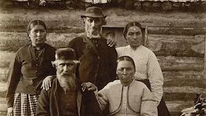 La famille George McPherson (fil s d'Andrew) en Ontario, 1872