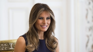 La première dame des États-Unis Melania Trump