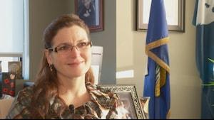 La mairesse de Wood Buffalo, Melissa Blake