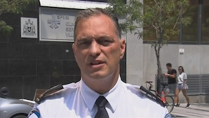 Philippe Pichet, directeur du Service de police de la Ville de Montréal