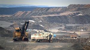 Une mine dans le secteur de Fermont au Québec
