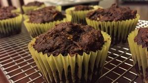 Des muffins au chocolat