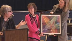 Dr Nadine Arsenault-Samson reçoit le prix Étoile Santé 2018.