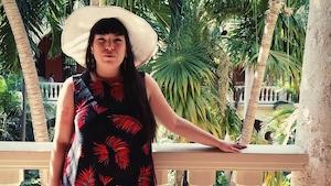 La poète innue Natasha Kanapé Fontaine en Colombie pour le Hay Festival
