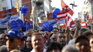 L'Autriche pourrait devenir dimanche le premier pays de l'Union européenne à élire un chef d'État d'extrême droite