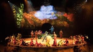Le spectacle « OVO », du Cirque du Soleil