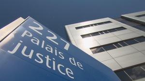 Le palais de justice de Chicoutimi
