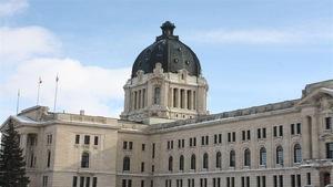 Palais législatif à Regina