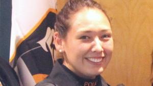 La policière Pamela Stevenson