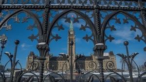La colline du Parlement à Ottawa