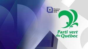 Le logo du Parti vert du Québec.