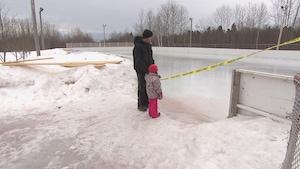 Les patinoires de Saguenay ont été fermées.