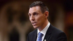 Le chef du Parti progressiste-conservateur de l'Ontario, Patrick Brown.
