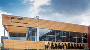 Le pavillon des Premiers-Peuples, au campus Val-d'Or de l'UQAT
