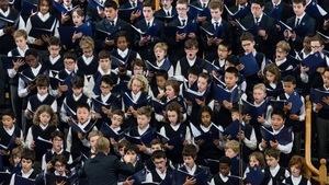 Les Petits Chanteurs du Mont-Royal en concert.