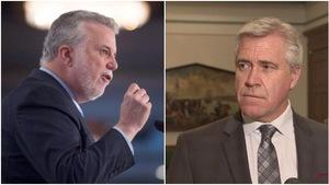 Le premier ministre du Québec, Philippe Couillard, voudrait enterrer la hache de guerre avec Terre-Neuve-et-Labrador à propos du contrat de Churchill Falls.