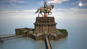 En Inde, une statue record