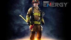 Le nouvel habit de pompier conçu chez Innotex de Richmond.