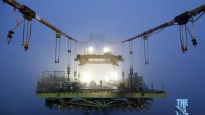 Des travaux sur le pont Macdonald, à Halifax.