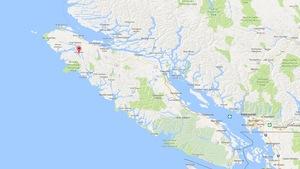 Un tremblement de terre de magnitude 4,4 a secoué la côte ouest de la Colombie-Britannique.