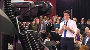 Le premier ministre du Canada, Justin Trudeau, a été interrogé sur une foule de questions.