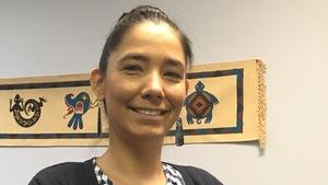 La directrice des partenariats et des communications pour la Commission de développement des ressources humaines des Premières Nations du Québec, Odile Joannette
