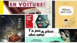 Les cinq romans jeunesse finalistes pour le prix TD