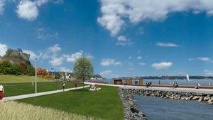 Esquisse de la phase 3 de la promenade Samuel-De Champlain