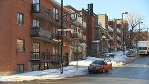 Une rue du quartier Centre-Sud, à Montréal