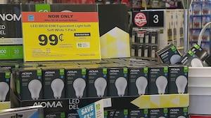 Des ampoules DEL avec 6 dollars de rabais