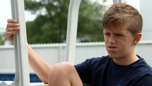Jérémy Beaudoin, 14 ans, a été atteint d'un cancer rare quand il avait deux ans. Aujourd'hui, il a de sérieux problèmes de dentition.