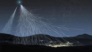 Non, ces rayons ne proviennent pas de la Voie lactée