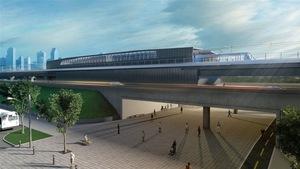 Image du projet de Réseau électrique métropolitain (REM)