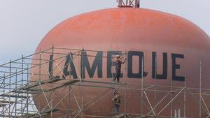 La «boule d'eau» de Lamèque est en cours de rénovation