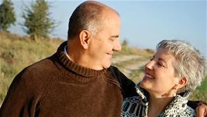 Des retraités heureux