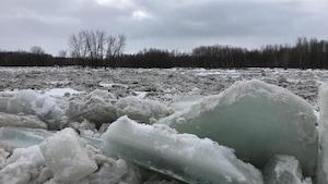 La rivière Nicolet.