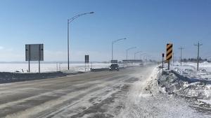 La circulation était difficile sur la route 170 à Saint-Bruno.