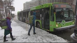 Un autobus du RTC