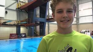 Rylan Weins a terminé 16e aux préliminaires des Championnats du monde juniors de la FINA.