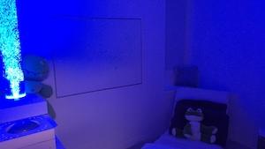 La salle multisensorielle du Centre de réadaptation Laforest de Drummondville