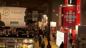 La programmation de Radio-Canada au 40e Salon du livre de Montréal