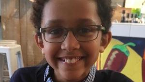 Sébastien Cimpaye, 9 ans, s'est illustré à Gatineau dans le cadre du Mois de l'Histoire des Noirs.