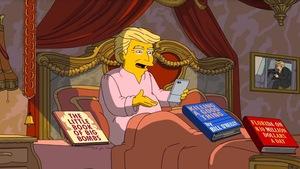 <em>Les Simpson</em> se moquent des 100premiers jours du président Trump
