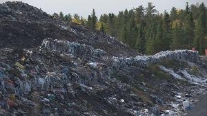Une montagne de déchets