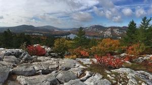 La vue des montagnes de Killarney