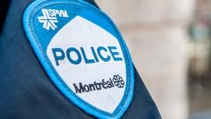 L'écusson sur l'uniforme du Service de police de la Ville de Montréal.