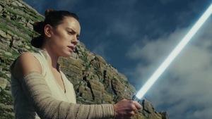 Une image tirée de la bande annonce du nouvel épisode de Star Wars : les derniers jedi